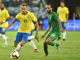 Neymar a fait le show. AFP