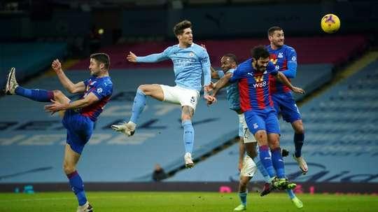 Le formazioni ufficiali di Manchester City-Aston Villa. AFP