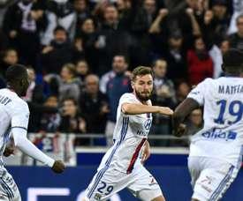 Tousart a buté sur Benitez. AFP