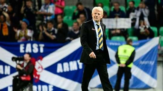 A Escócia falhou, por pouco, a chance de ir ao 'play-off'. AFP
