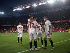Succès précieux pour le Séville FC. AFP