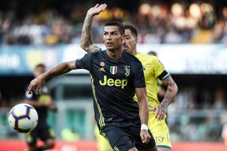 fad6a6d543 Pin Cristiano Ronaldo e sonho de mais uma Champions no currículo. AFP