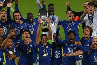 Chelsea brilha nos pênaltis e é o campeão da Supercopa da Europa. AFP