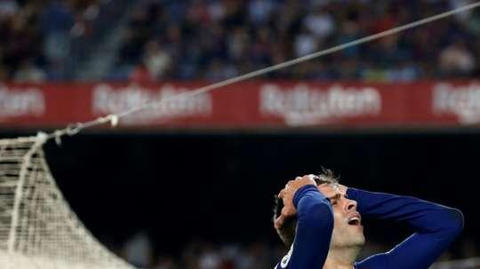 En León vivió uno de los momentos más tensos de su carrera. AFP