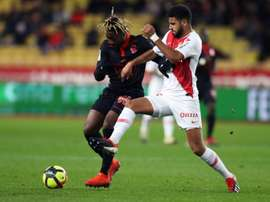 Les compos probables du match de Ligue 1 entre Nice et Monaco. AFP