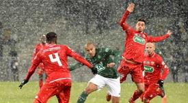 El Dijon goleó por 3-6. AFP