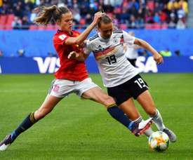 L'Allemagne bat l'Espagne 1-0. AFP