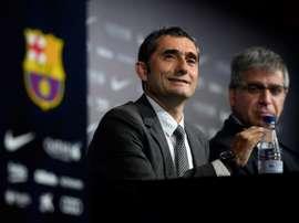 Ernesto Valverde, le 1er juin 2017 à Barcelone