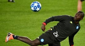 Klopp quiere juntar a Van Dijk y Koulibaly. AFP