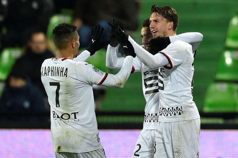 Rennes confirme son renouveau à Metz. AFP