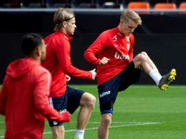 Odegaard has criticised Hegeberg's decision. AFP
