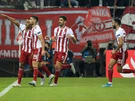 L'Olympiakos menace de quitter la D1 grecque. AFP