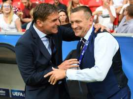 Aidy Boothroyd has led England's U21 team to the European champonships. AFP