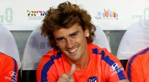 Griezmann foi convidado por duas equipes da terceira divisão espanhola. AFP