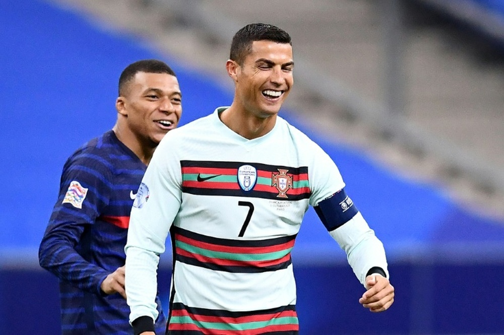 Ronaldo's move to PSG will depend on Mbappe's decisions over his future. AFP