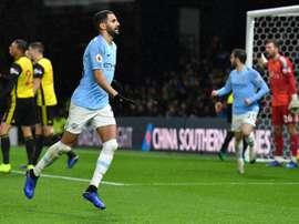Les compos probables du match de Premier League entre Manchester City et Watford. AFP