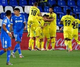 Villarreal bat Getafe et consolide sa 5e place. AFP