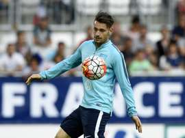 Debuchy could return to the France squad after beating Neymar to award. AFP