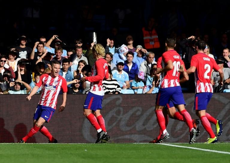 Griezmann et l'Atlético s'amusent face au Celta