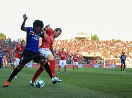 Nice perd Dante sur blessure pour plusieurs matches. AFP