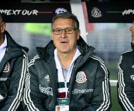 Le nouvel entraîneur du Mexique Gerardo Martino. AFP