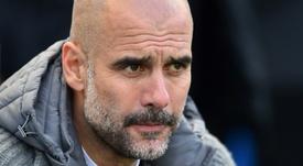 Guardiola fait confiance à Manchester City. AFP
