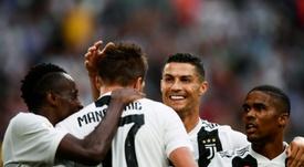 Pirlo recomenda um novo atacante para a Juve. AFP