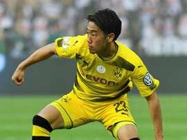 Kagawa seals Dortmund extension. AFP