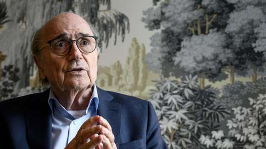 Un rapport de police accablant pour Blatter pourtant partiellement blanchi. AFP