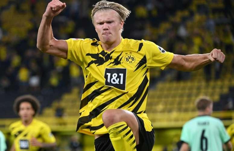 Dortmund punit Mönchengladbach. afp
