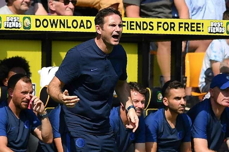 Chelsea sauvé par ses jeunes, Manchester United coulé par les siens. AFP