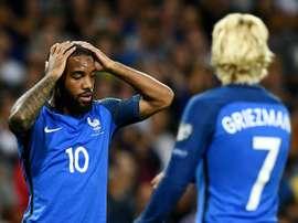 El combinado francés no pudo vencer a Luxemburgo. AFP