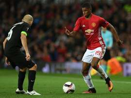 United beat Zorya 1-0 in the fixture at Old Trafford. AFP