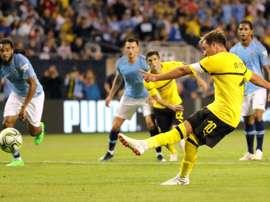 Dortmund annonce le départ de Götze en fin de saison. AFP