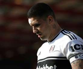 Mitrovic prolonge son contrat avec Fulham. AFP