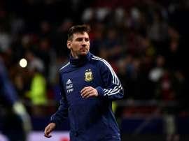 Messi est de retour à Barcelone. AFP