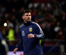 Messi regressou mas nada mudou desde a última vez. AFP