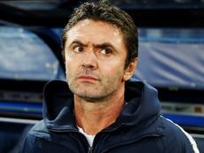 Le sélectionneur de l'équipe de France Espoirs Sylvain Ripoll. AFP