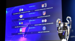 Sorteio deixou um lado com campeões e outros com times menos tradicionais na Champions. AFP