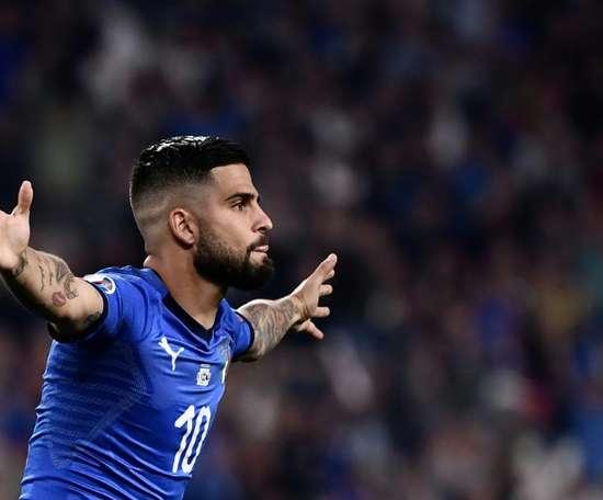 L'Italie sur sa lancée. AFP
