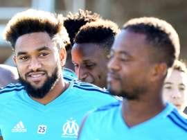Amavi est heureux à Marseille. AFP