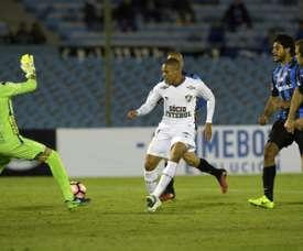 El jugador brasileño volvió a ser inscrito para la Copa Sudamericana. AFP/Archivo