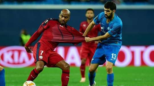 Bordeaux reçoit le Zenit. AFP