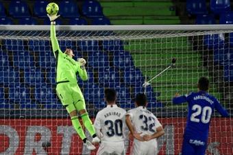 Thibaut Courtois afronta su cuarta temporada en el Real Madrid. AFP