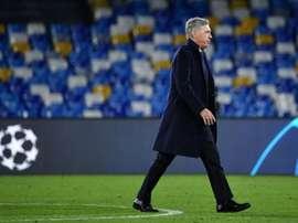 Naples et les incertitudes de l'après-Ancelotti . AFP
