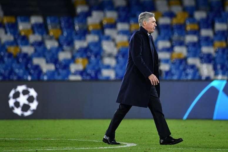 Carlo Ancelotti se ha quedado sin trabajo. AFP/Archivo