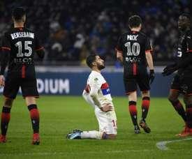 Lyon volta a perder. AFP