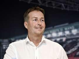 Kasper Hjulmand prendra la tête la sélection après l'Euro. AFP