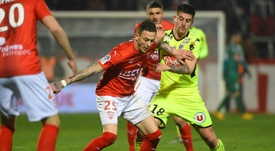 Nimes' match could be in danger. AFP