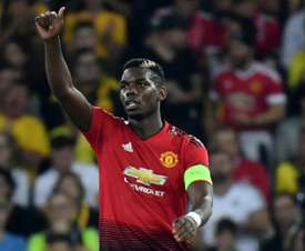 Pogba excelled on Wednesday night. AFP